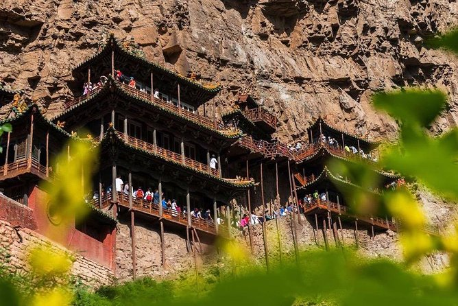 All Inclusive Datong Private Tour to Hanging Temple and Yingxian Wooden Pagoda photo 1