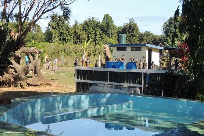 Experience Cloud 9 Floating Beach & Bar Plus Onshore Hot Spring Mud Pool Combo