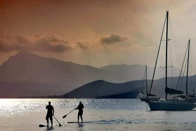 Stand Up Paddle in Poros / Όρθια Κωπηλασια στον Πορο