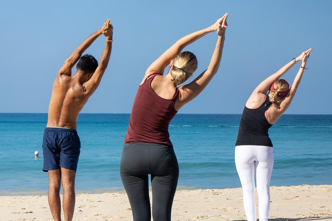 Beach Yoga Class in Phuket