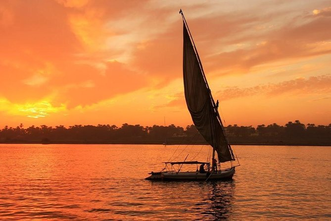 1h Felucca Ride in Aswan with Pickup and Guide