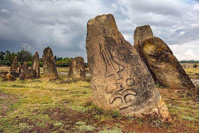 UNESCO site of Tiya grave mark ,Rock church of Adadi Mareyam & Stone tool site