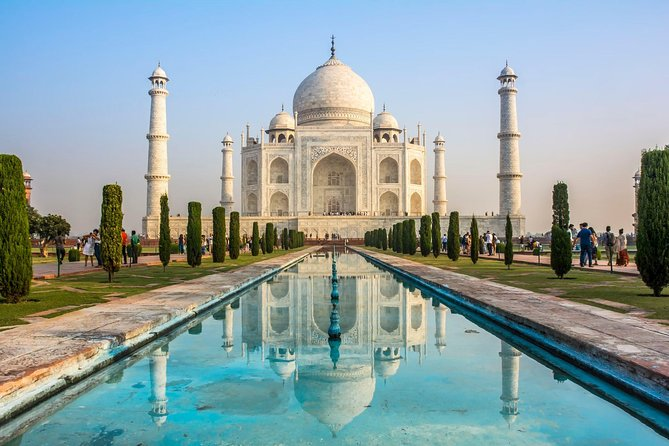Sunrise Taj Mahal Tour and Agra Fort - By Car