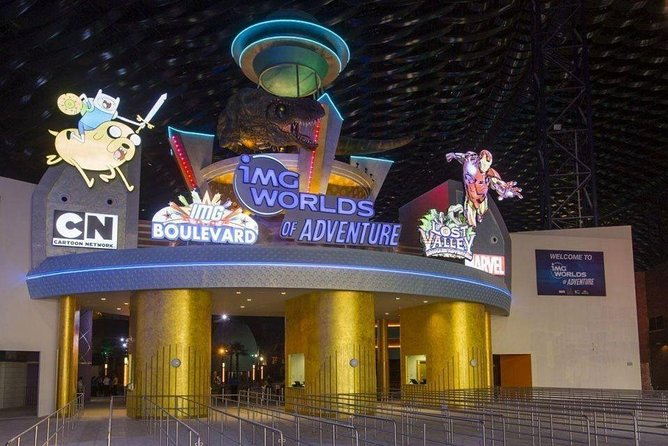 IMG Worlds of Adventure Dubai Entrance Ticket
