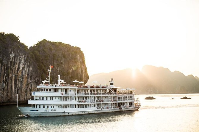 The Au Co 3-Day Halong Bay and Gulf of Tonkin Cruise From Hanoi