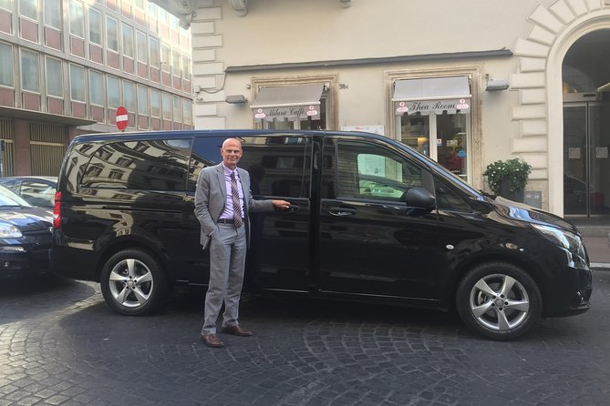Private Transfer from Rome to Fiumicino/Ciampino Airport