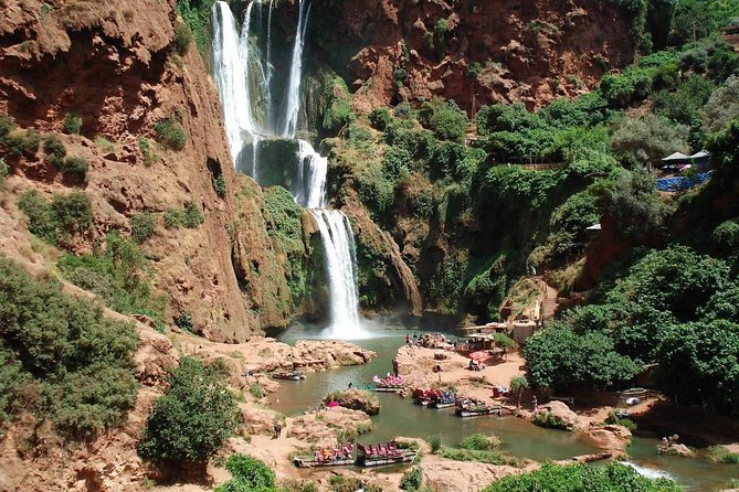 Family Day Trip from Marrakech To Ouzoud Waterfalls : Boat Ride & Private Travel