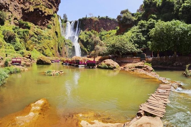Best Private & Guided Trip from Marrakech : Explore Amazing Ouzoud Waterfalls