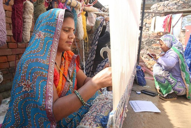 Jaipur Rugs Hand Weaving and Carpet Making Experience Hand-loom Tour