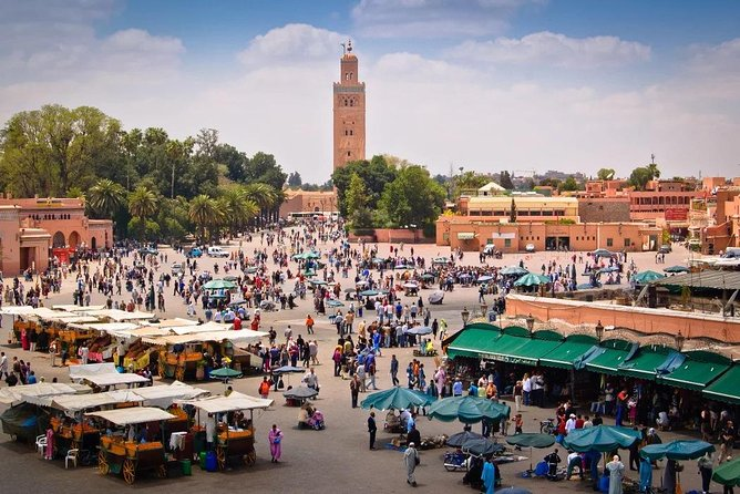 Best Walking Day Trip in Medina of Marrakech
