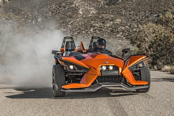 Full-Day (8 hour) Polaris Slingshot Adventure Rental for up to TWO people