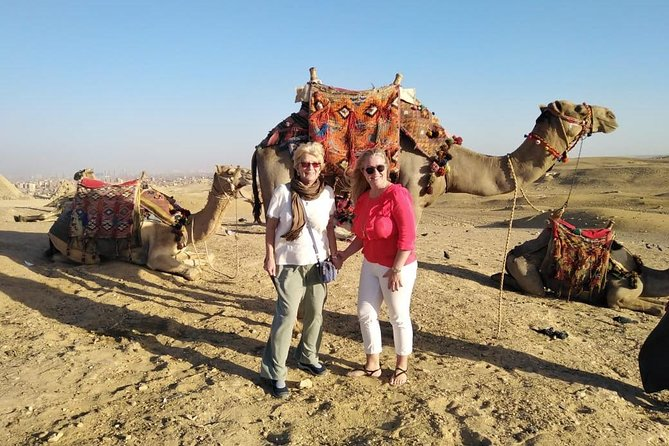 Giza pyramids ,sphinx and lunch koshry including from cairo giza hotels