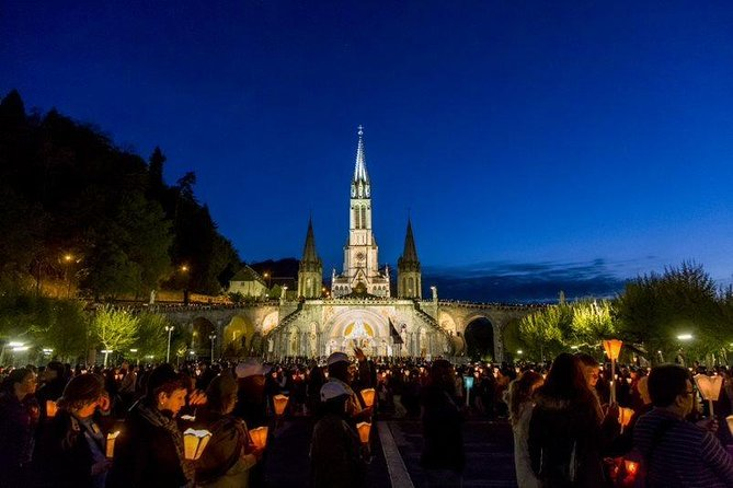 Lourdes Sanctuary and castle small group tour, lunch included