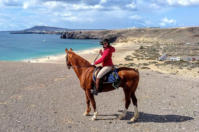 Horseback Riding in Famara Beach, Lanzarote, Spain