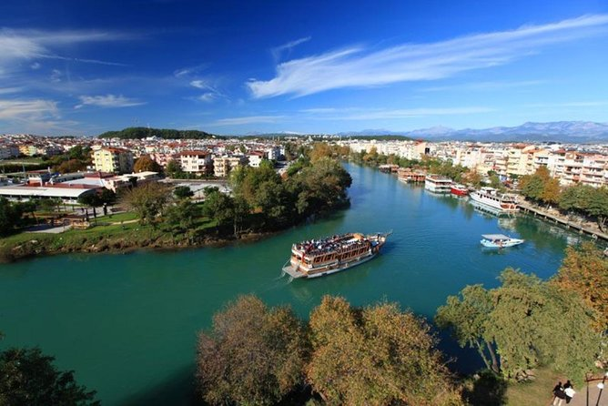 Manavgat Boat Trip With Waterfalls and Local Bazaar From Antalya