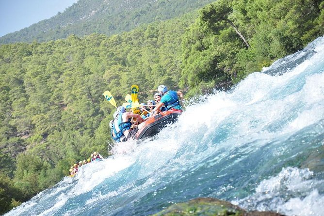 rafting tour at Koprulu canyon