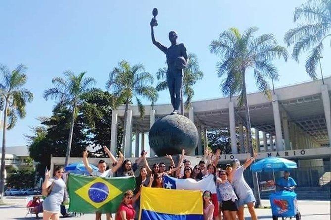 Full Day Tour Rio de Janeiro: Christ Sugar Loaf Maracanã Selarón + Lunch