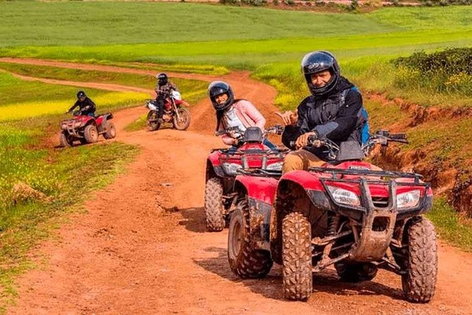 Group Service Adventure in ATVs Maras Moray and Salinas 1 Day