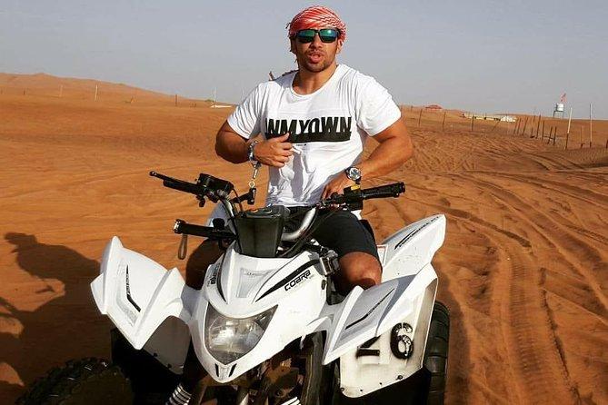 Morning 60 Mins ATV Self Drive Safari on Red High Dunes with Sand Boarding