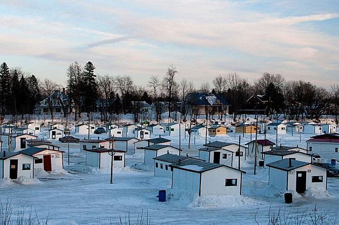 Quebec Ice Fishing VIP Day Tour