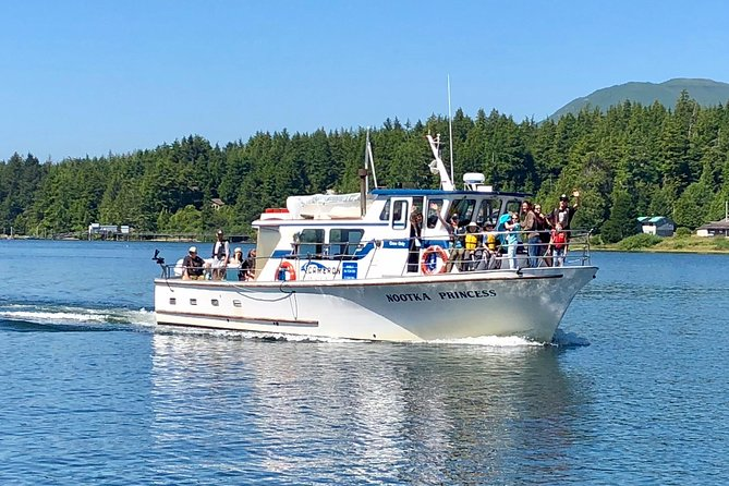 Whale watching & sightseeing tour in Ucluelet, Vancouver Island