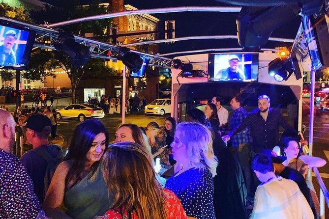 Nashville Open-Air Public Party Bus Tour with Onboard DJ & Bartender