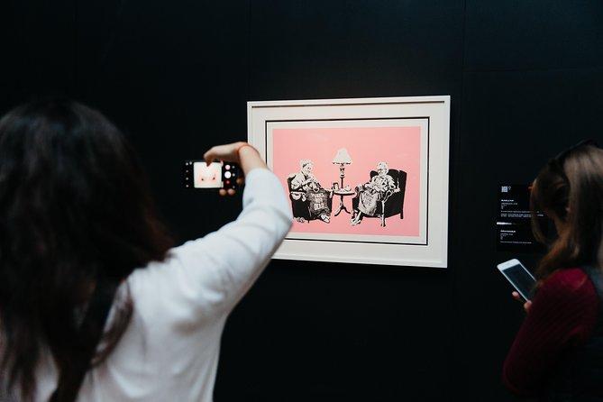 Skip the Line: Banksy Exhibition: Genius or Vandal? Ticket