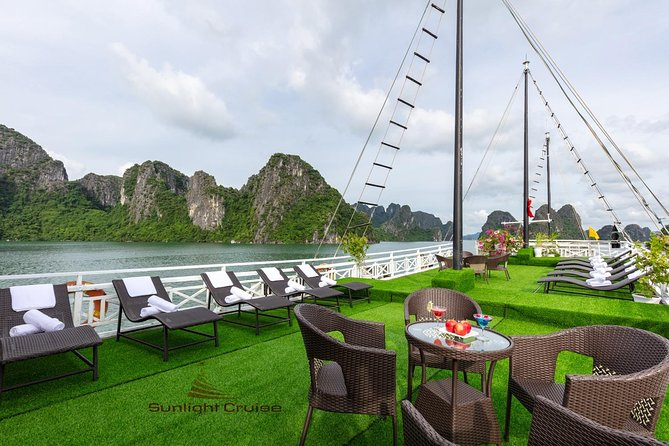 Halong bay deluxe cruise 2 days/ 1 night: kayaking, titop island, surprise cave photo 18