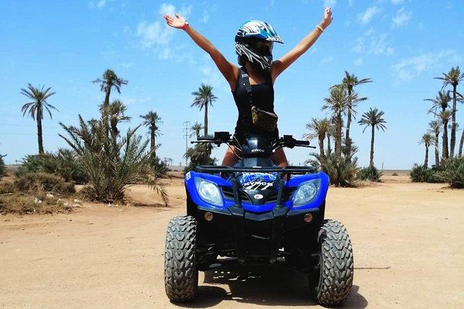 Marrakech Palmeraie Quad Bike Desert Adventure