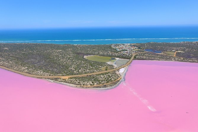 Pink Lake + Abrolhos Islands Nature Tour (Coordinated Start Times)