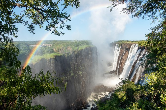Victoria Falls: A view from the ground & and from Bird's Eye!