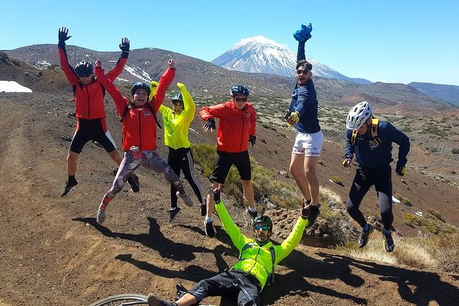 Bike route from Teide National Park to Puerto de la Cruz, Tenerife