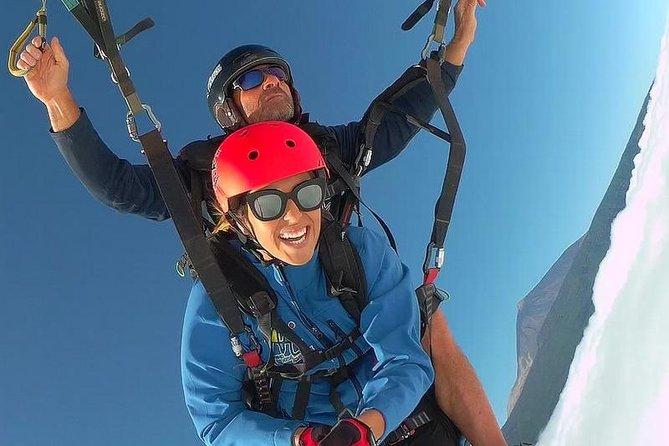 Paragliding from Teide National Park to Puerto de la Cruz, Tenerife