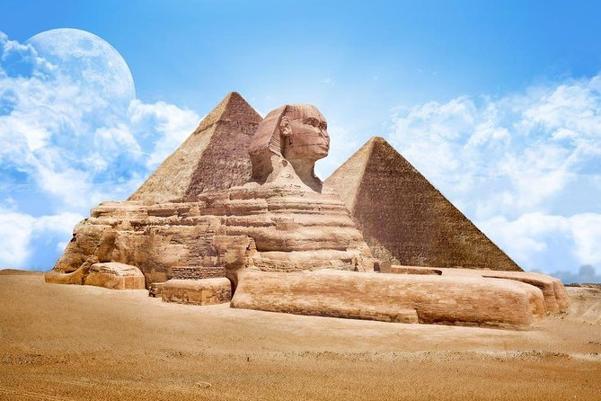 Full-Day Private Tour of Giza Pyramids Memphis and Sakara
