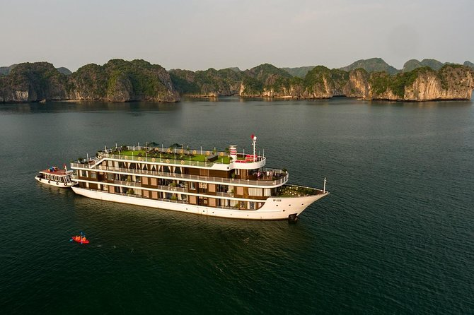 Doris Cruise 5 Star Cruise 3 Days Explore Halong Bay Lan Ha Bay Private Balcony