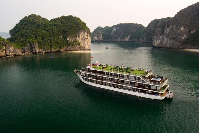 Doris Cruise - Luxury 5 Star Cruise 2 Days 1 Night Tour from Tuan Chau Island