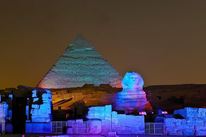 Cairo Sound and Light Show Ticket with Pickup Service