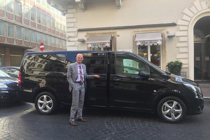 Private Transfer from Fiumicino/Ciampino Airport to Rome City Center