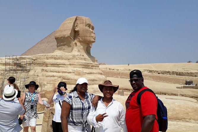 Giza Pyramids, Sphinx, Saqqara and Dahshur tour