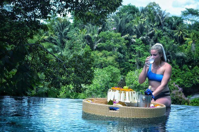 The highlight of Ubud Tour & Floating Lunch Experience