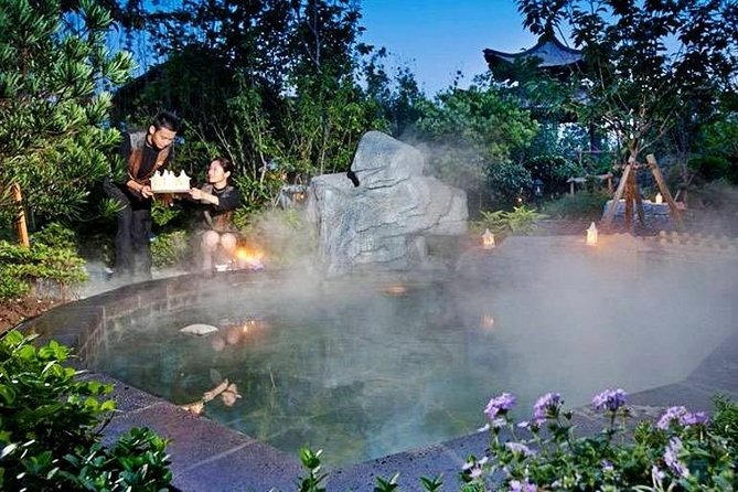 Nanjing Tangshan Hot Spring Spa Experience with Private Transfer