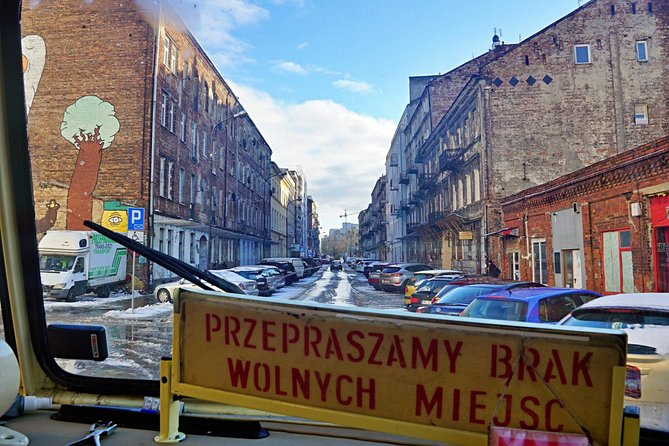 Discover the Dark Side of Warsaw in Praga District by Retro Bus