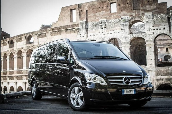 shared shuttle service Rome city to Fiumicino airport