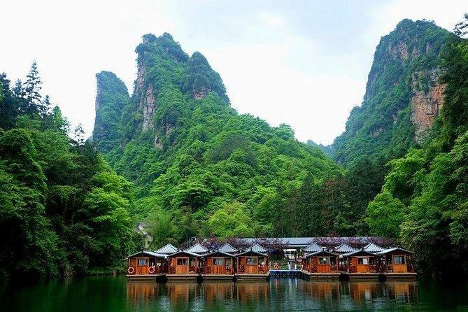 1-Day Zhangjiajie Grand Canyon(Glass Bridge) & Baofeng Lake Tour