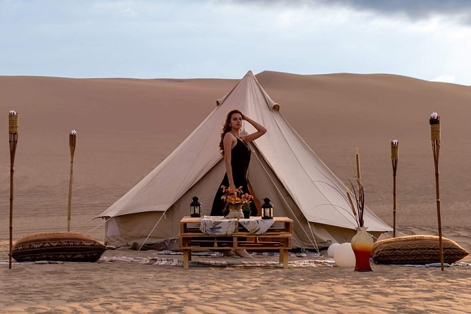 Luxury Camping in Huacachina
