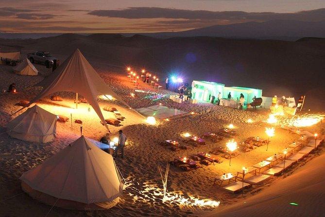 Dinner at Huacachina Desert