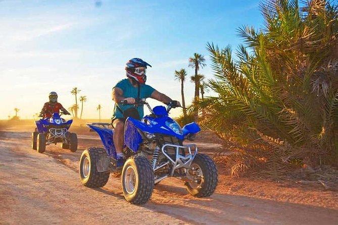 Quad Biking in Marrakech Palm Grove