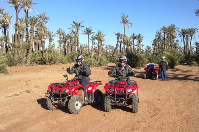 Quad Bike Ride In The Palm Grove Of Marrakech photo 3