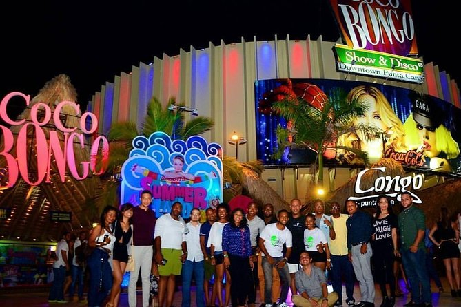 Coco Bongo Punta Cana with hotel/resort pick up