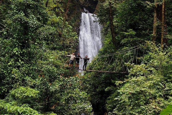 El Tigre Waterfalls: Advance Hiking 8km